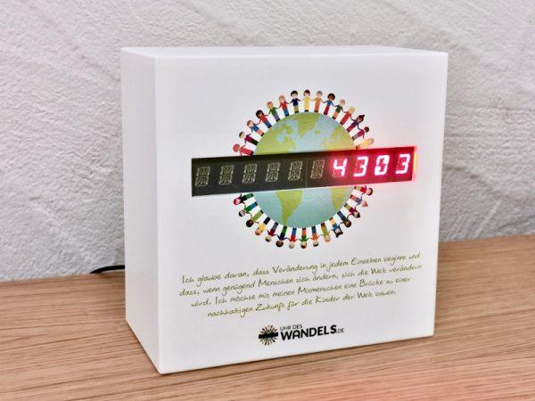 Uhr des Wandels - Hardware Version - Human Connection