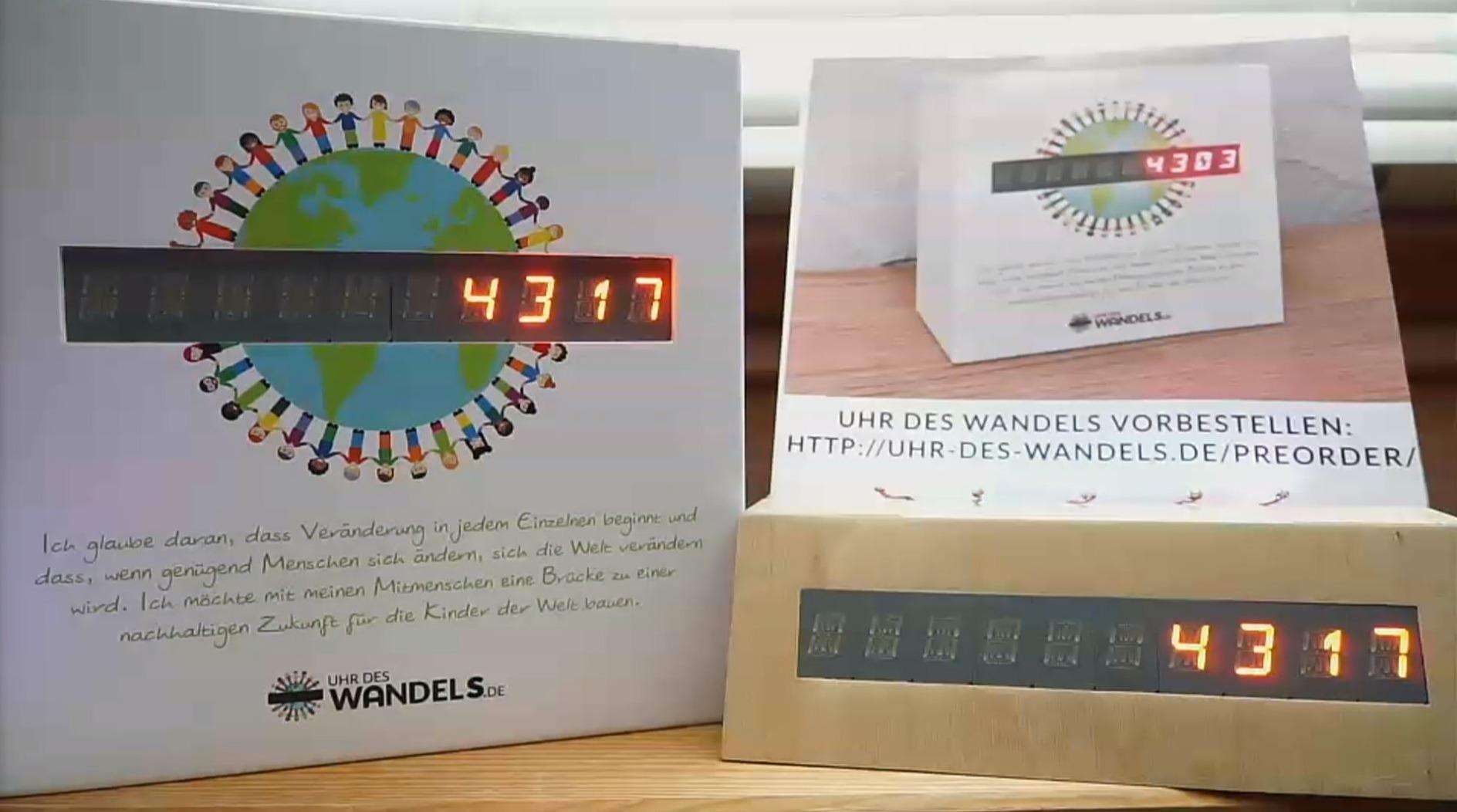Human Connection - Uhr des Wandels