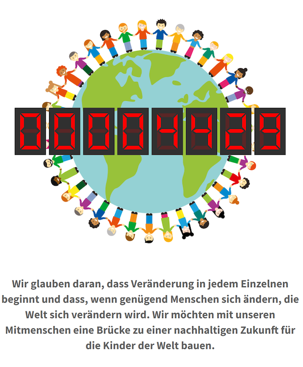 Human Connection-Uhr - Zähler 4429