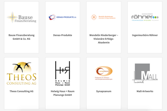 Human Connection - Förderer Logos