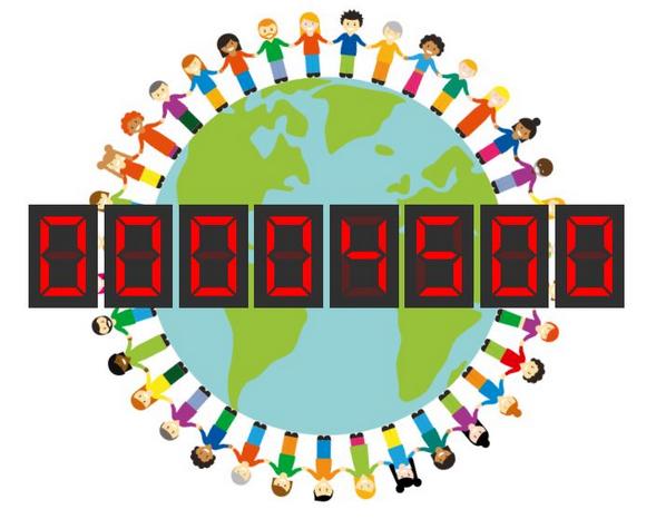 Human Connection-Uhr - Zähler 4500