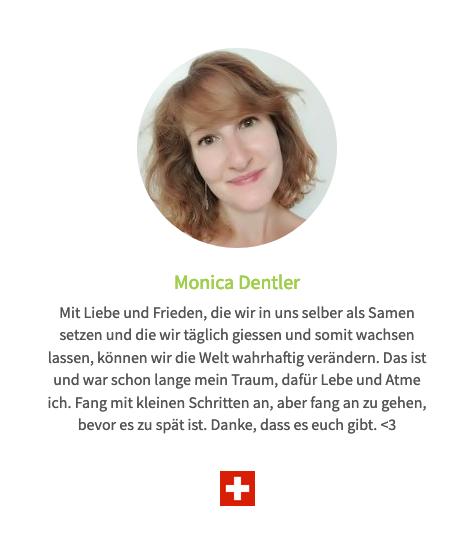 Monica Dentler - 4500ste Human Connection-Uhr Stimme