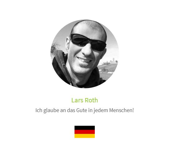 Lars Roth - Stimme auf der Human Connection-Uhr