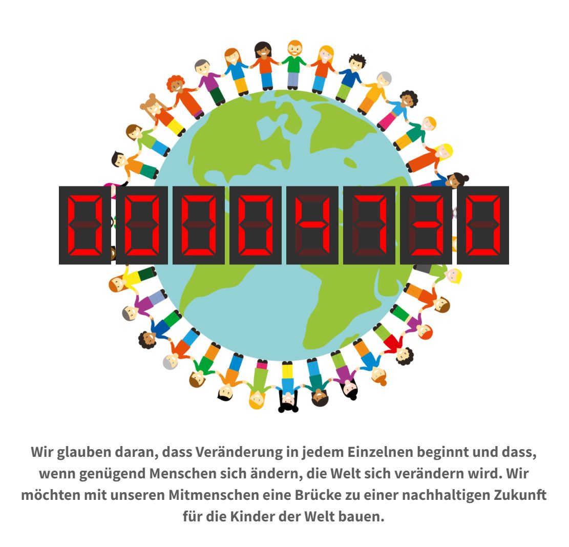Human Connection-Uhr - Zähler 4730